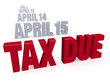 Taxes are Due