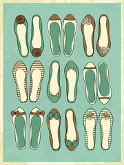Ballerina Shoes Collection