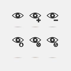 Eye sight icons