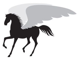Silhouette Pegasus