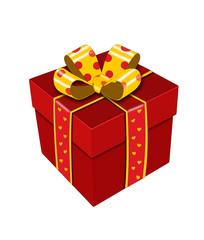 Подарок.Векторная иллюстрация.