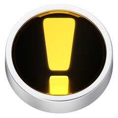 Exclamation round icon