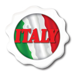Italy White Button
