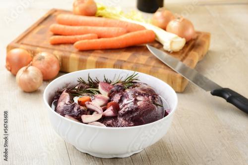 Carne marinata