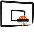 Cool Basketball Dunking Design
