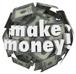 Make Money Earn Income Profit Revenue Currency Ball