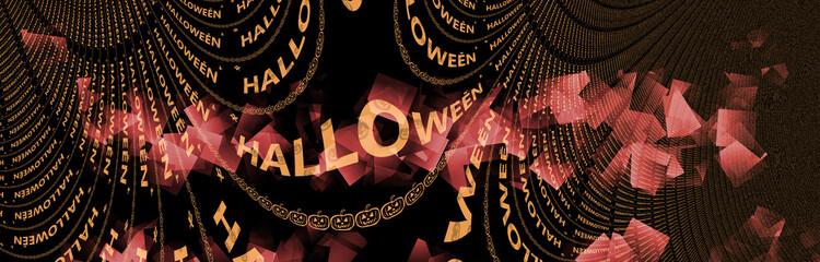 banniere halloween