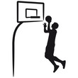 Basketball Dunk Design