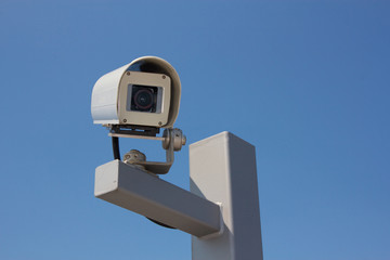 Security Camera Facing Right