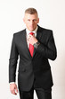 Young Businessman suit