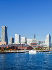Yokohama city in Japan