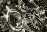 titanium and steel gears and  as aerospace and rocket parts - 56771071