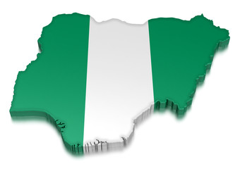 Nigeria (clipping path included)