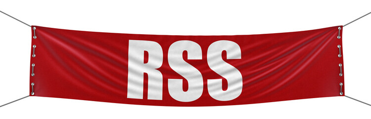 RSS Banner (clipping path included)