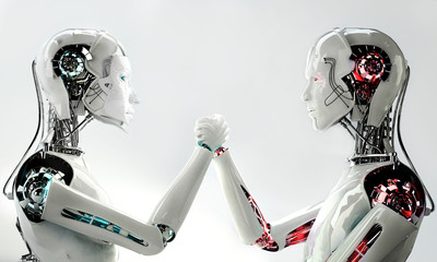 men robot vs women robot