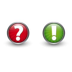Frage - Antwort - Button