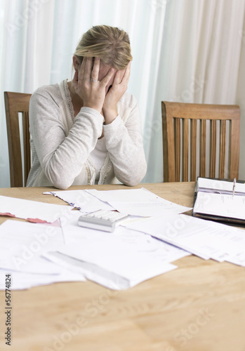 Woman desperate about unpaid bills