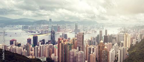 Fotobehang Hong-Kong Hong Kong island