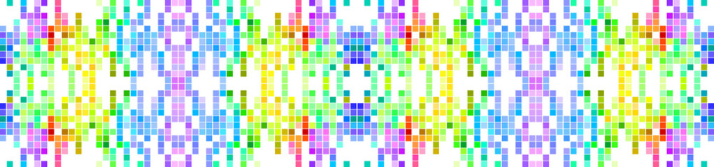 Colored Mosaic Abstract Background