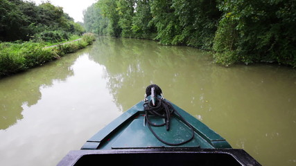 Rural Canal Trip Time Lapse