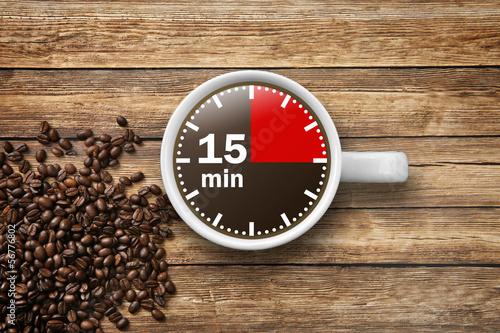 15 min Kaffeepause