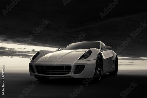 obraz PCV Samochód sportowy