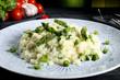 risotto con asparagi