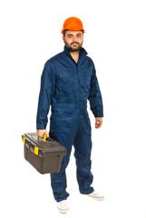 Electrician worker man