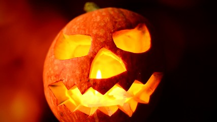 Scary jack o lantern, Halloween theme