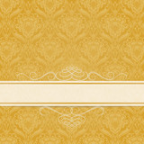 background pattern Menu Gold