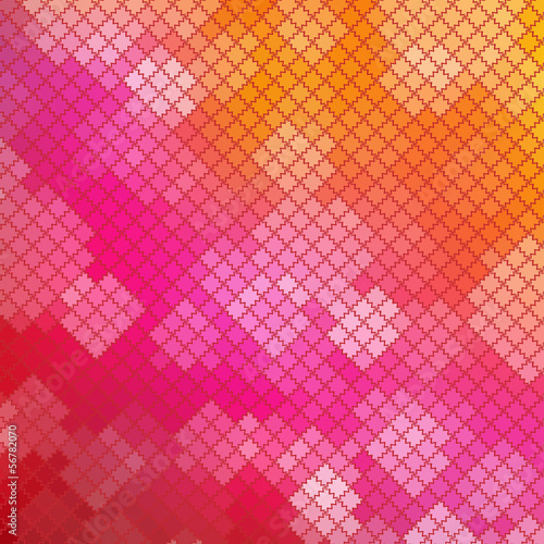 Mosaic Pink Background
