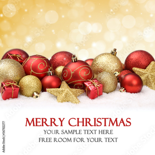 canvas print picture Background for Christmas