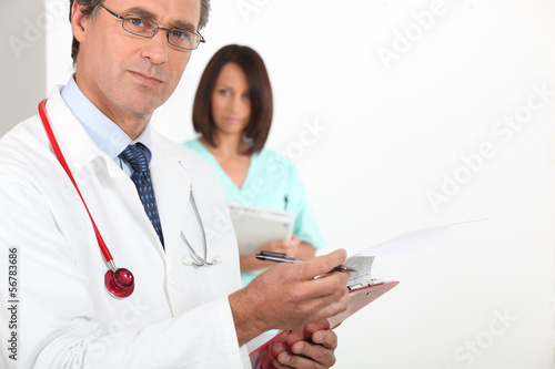 doctor consulting report