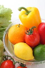 野菜、果物の集合