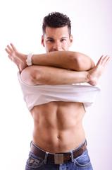 Undressing!