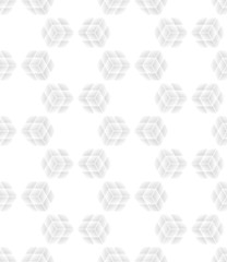 Seamless cube pattern. Vector repeating texture
