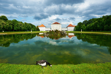 Park in Nymphenburg castle, Munich