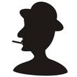 Man - silhouette
