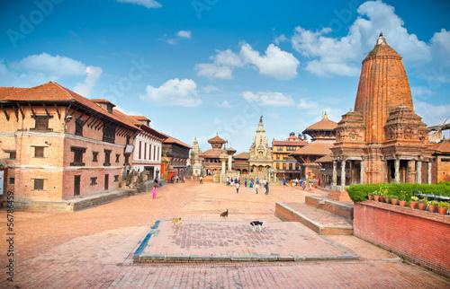 Fotobehang Nepal Bhaktapur Durbar Square, Kathmandu valey, Nepal.