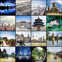 China - collage
