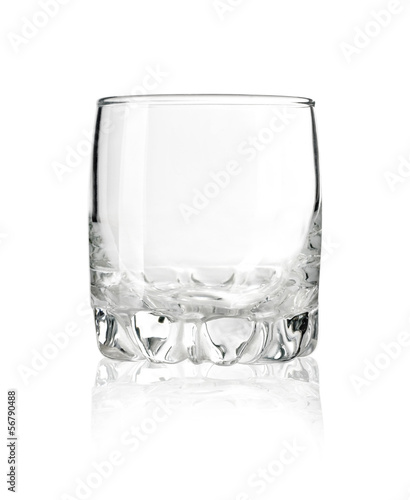 Empty glass