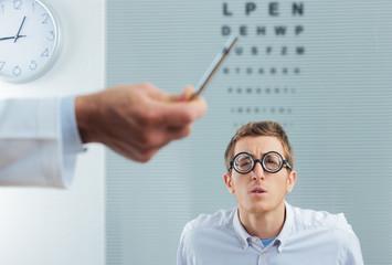 Optometrist Visit