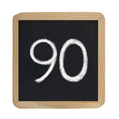 the number 90
