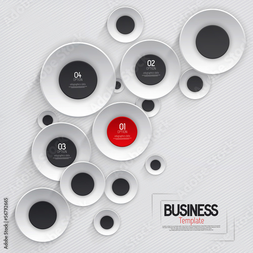 Abstract business template. Vector