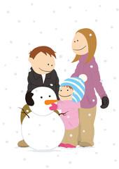 family_snowman
