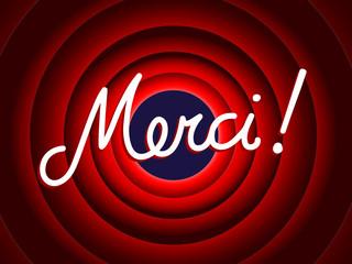 """""""MERCI"""" (remerciements message carte gratitude plaisir fin)"""