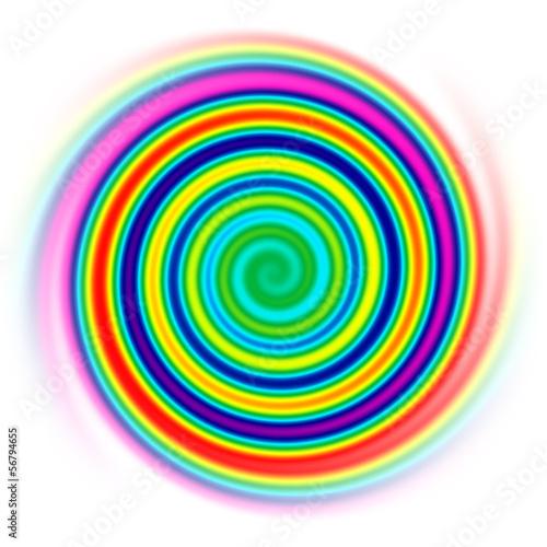 Foto op Plexiglas Spiraal spirale fina
