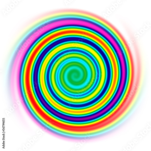 In de dag Spiraal spirale fina
