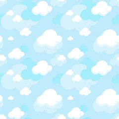clouds pattern