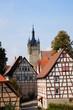 Altstadt und blauer Turm in Bad Wimpfen